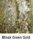 Minisk Green Gold color granite countertop