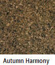 Autumn Harmony color granite countertop