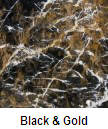 Black & Gold color granite countertop