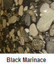 Black marinace color granite countertop